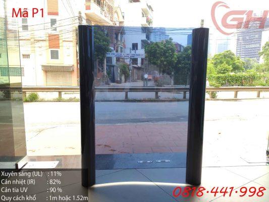 Thông số Film cách nhiệt chống nóng Đài Loan P1