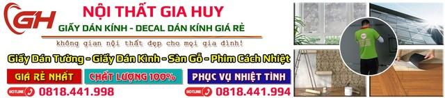 Gia Huy địa chỉ mua bán giấy dán kính uy tín tại Hà Nội