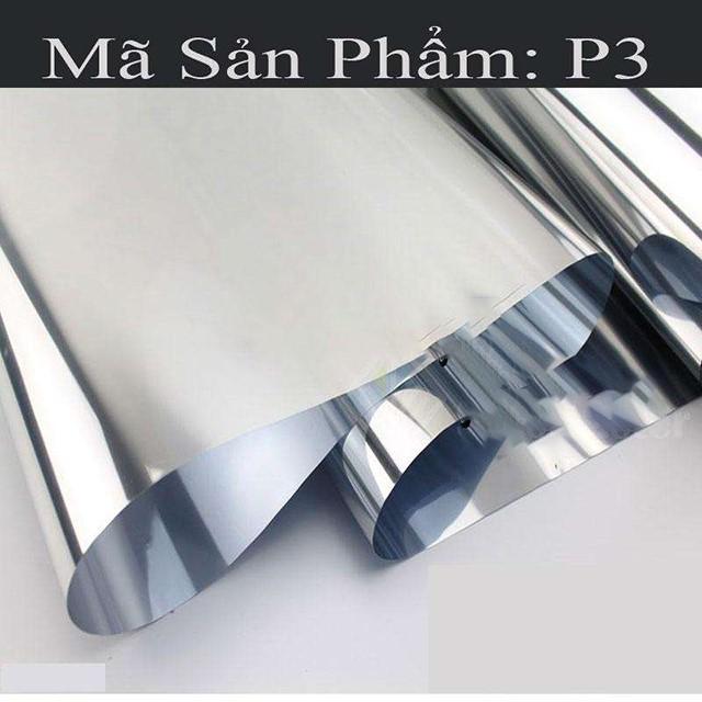 giấy dán kính cách nhiệt phản quang P3