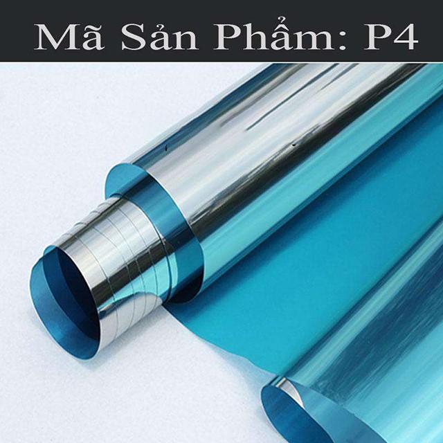 giấy dán kính cách nhiệt phản quang P4