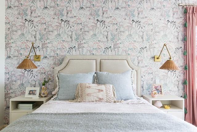 giấy dán tường phòng ngủ giá tốt