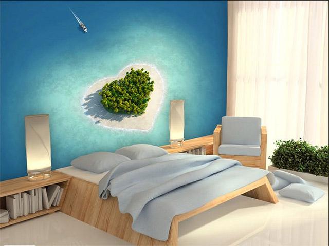 giấy dán tường phòng ngủ theo sở thích