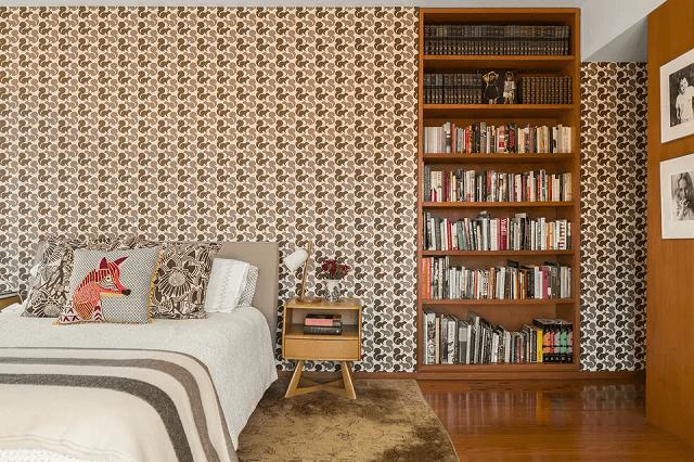 trang trí phòng ngủ bằng giấy dán tường 12