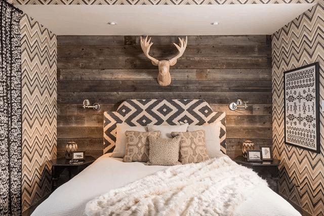 tranh trang trí phòng ngủ bằng giấy dán tường 13