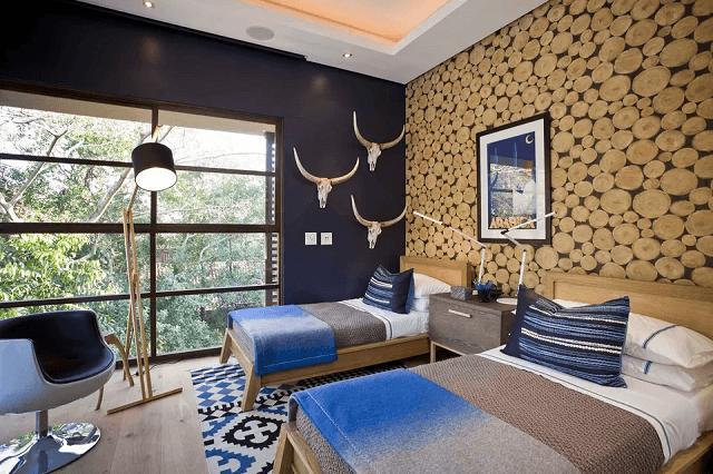 trang trí phòng ngủ bằng giấy dán tường 14