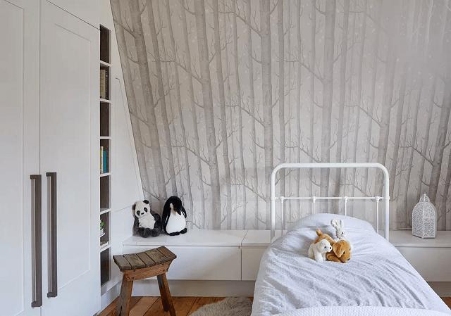 trang trí phòng ngủ bằng giấy dán tường 16