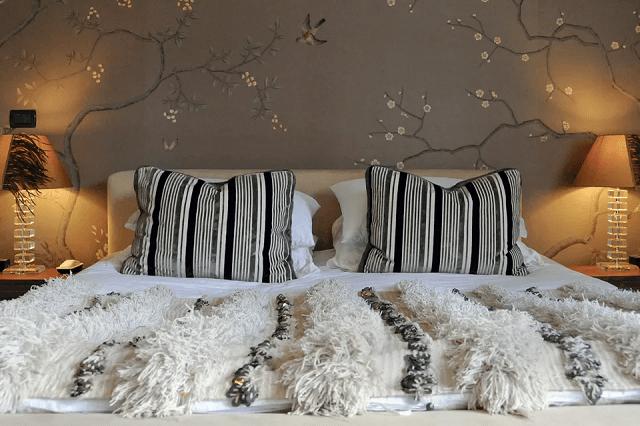 trang trí phòng ngủ bằng giấy dán tường 17