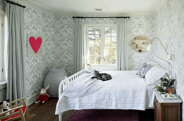 trang trí phòng ngủ bằng giấy dán tường 19