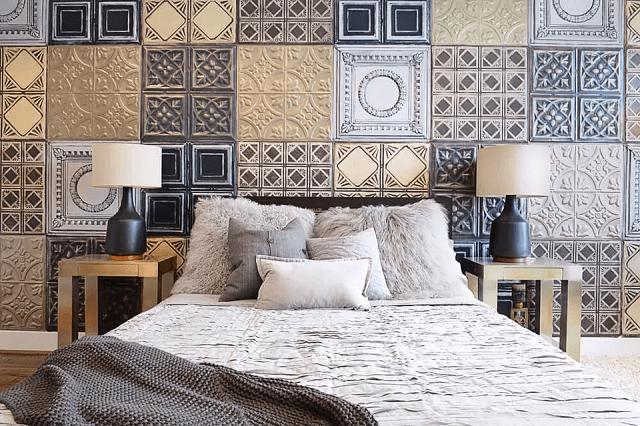 trang trí phòng ngủ bằng giấy dán tường 21