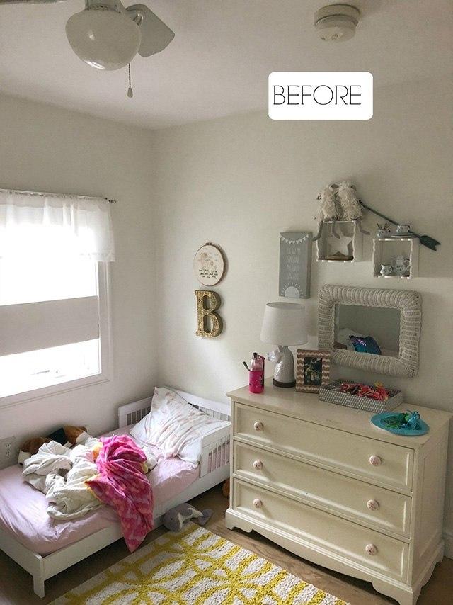 trang trí phòng ngủ cho bé gái bằng giấy dán tường