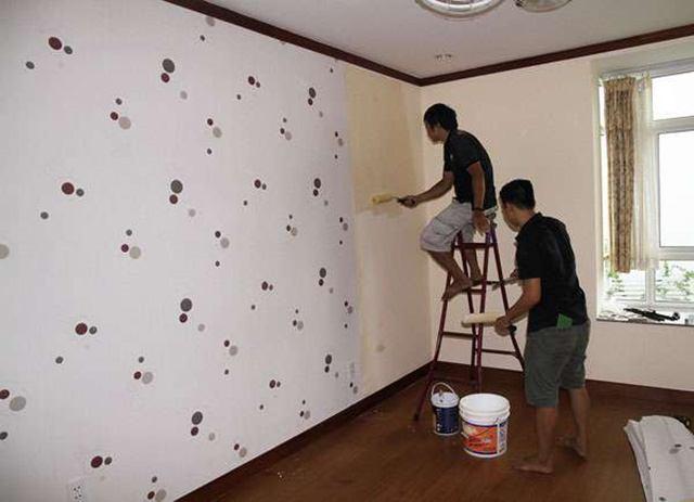 tường quét vôi có dán được giấy dán tường không