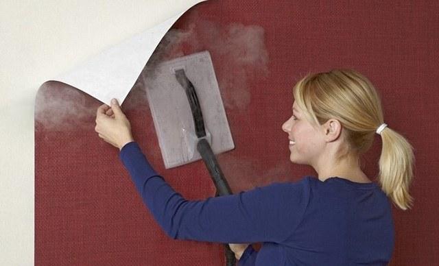 cách lột giấy dán tường hiệu quả