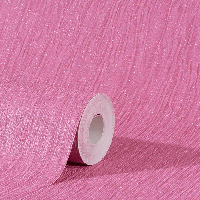 giấy dán tường màu hồng đậm