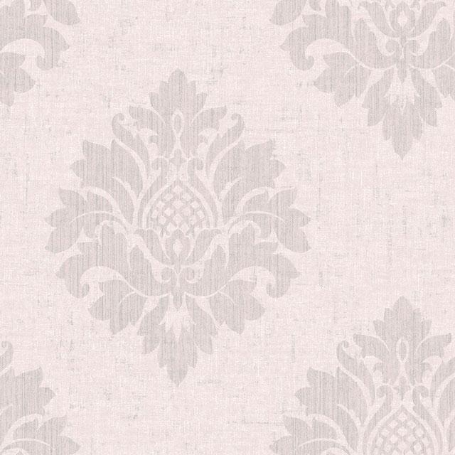 giấy dán tường màu hồng cổ điển