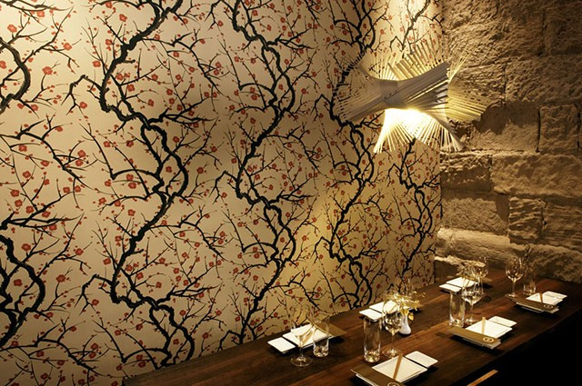 giấy dán tường nhà hàng 5