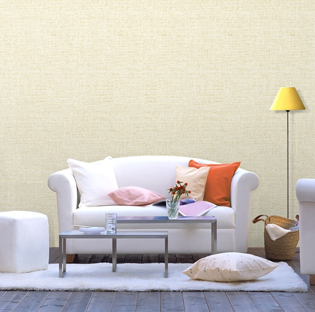 giấy dán tường phòng khách phong cách hiện đại