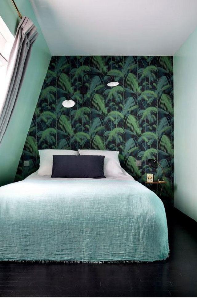 giấy dán tường phòng ngủ hiện đại 16