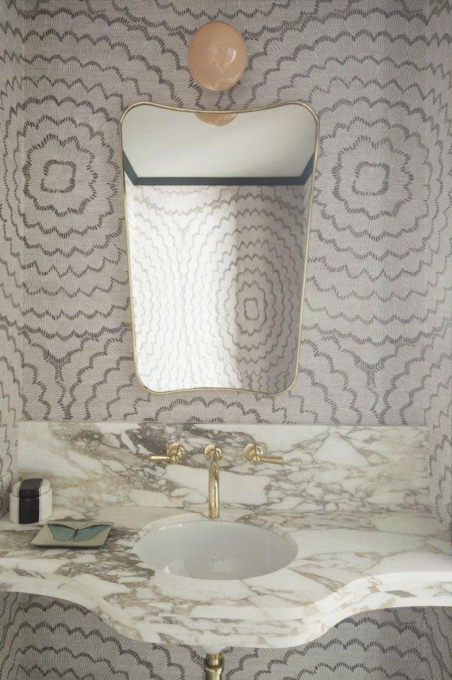 giấy dán tường phòng ngủ hiện đại 7