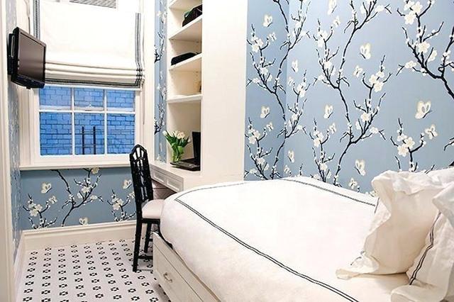 giấy dán tường phòng ngủ nhỏ 12