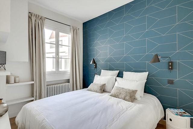 giấy dán tường phòng ngủ nhỏ 3