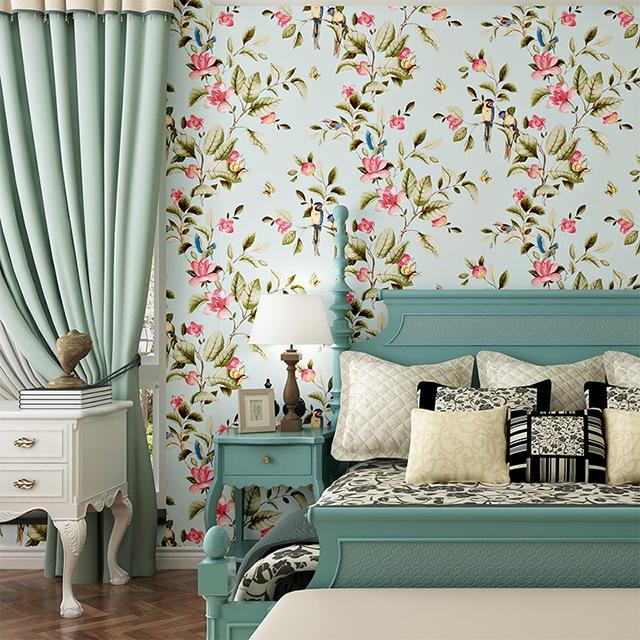 giấy dán tường phòng ngủ nhỏ 5