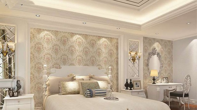 giấy dán tường phòng ngủ vợ chồng 1
