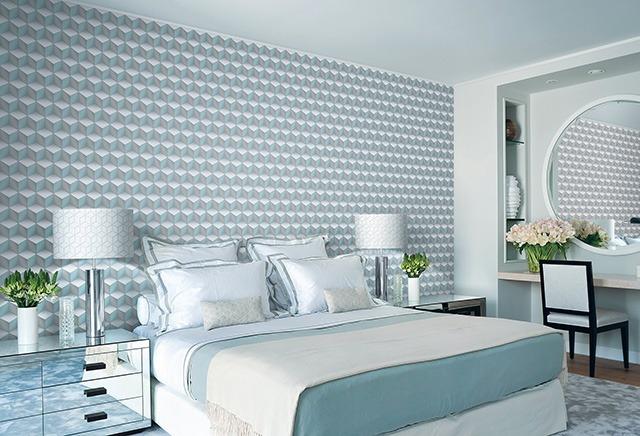 giấy dán tường phòng ngủ vợ chồng 2