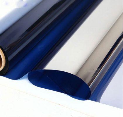 Giấy dán kính chống nắng phản quang 2 lớp
