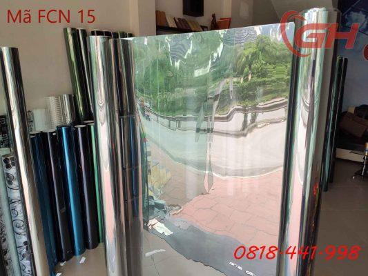 Phim cách nhiệt FCN 15 mặt sau phản quang