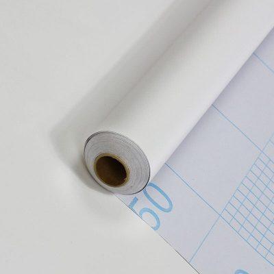 giấy decal dán kính màu trắng